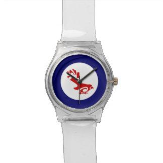 Fantail PIWAKAWAKA Roundel Wristwatch