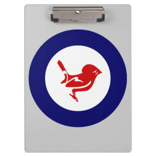 Fantail Roundel Clipboards