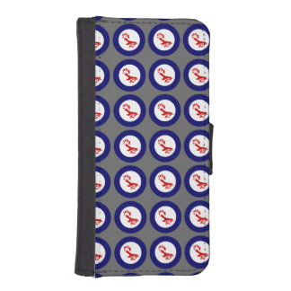 Fantail Roundel iPhone 5 Wallet Case