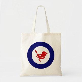 Fantail Roundel Tote Bag