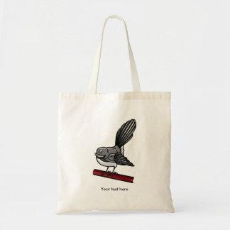 fantail tattoo zazzle tote bag