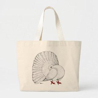Fantail:  White Bags