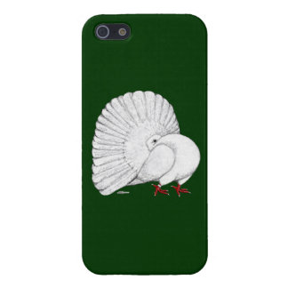 Fantail:  White Cases For iPhone 5