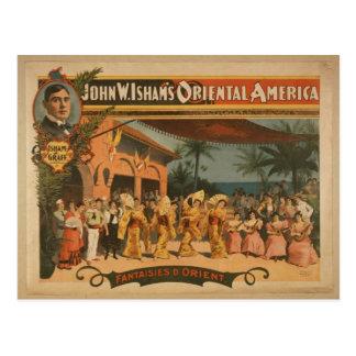 """Fantaisies D. Orient, Th del vintage de """"Juan W. I Tarjetas Postales"""