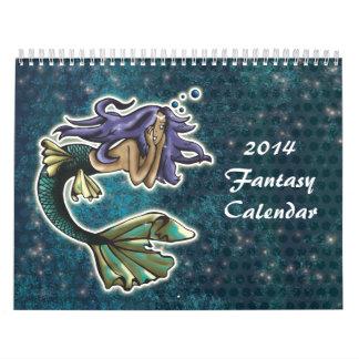 Fantasía 2014 calendarios de pared