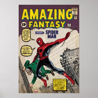 Fantasía asombrosa Spider-Man #15 cómico Póster