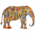 Fantasia Batik Elephant Magnet Photo Sculpture Magnet