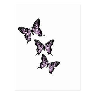 Fantasía Buterflies Tarjetas Postales