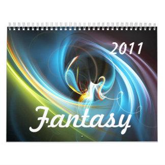 Fantasía, calendario 2011