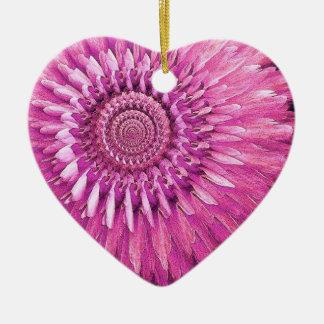Fantasía color de rosa y de la pluma ROSADA de la Ornato