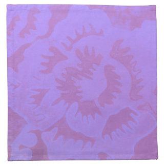 Fantasía de color de malva servilleta imprimida