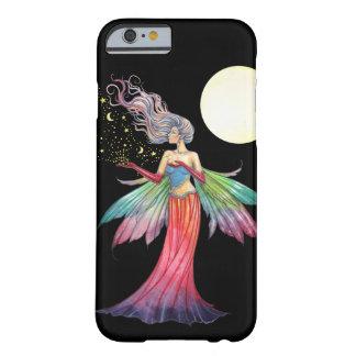 Fantasía de hadas colorida del recolector de la funda de iPhone 6 barely there