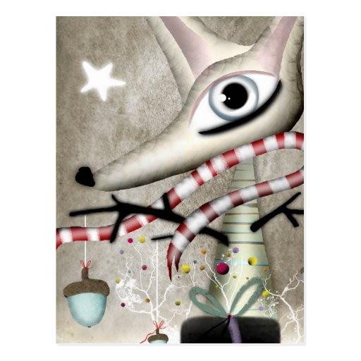 Fantasía de la hada del taller de la estrella de postales