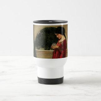 Fantasía de la magia de la pintura del Waterhouse Taza De Café
