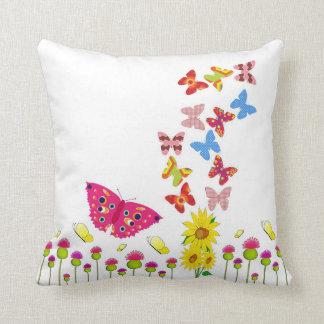 Fantasía de la mariposa cojin