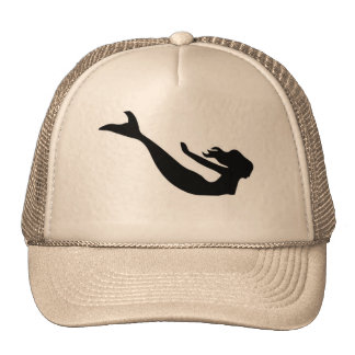 Fantasía de la sirena gorras