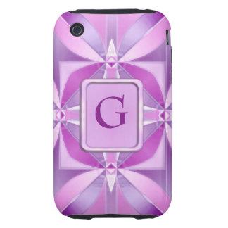 Fantasía de la soda de la uva funda resistente para iPhone 3