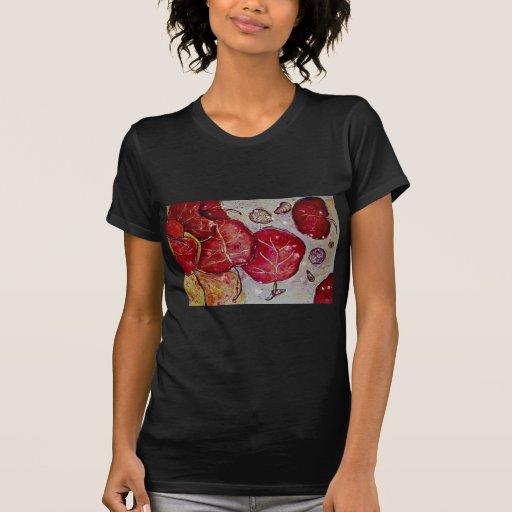 Fantasía de la uva del mar camisetas