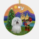 Fantasía de Navidad - algodón de Tulear Adorno Para Reyes