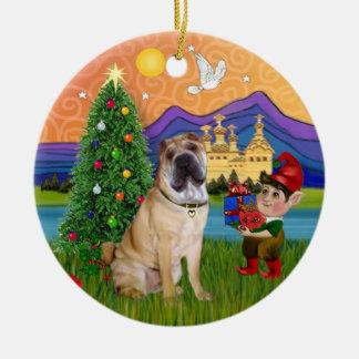 Fantasía de Navidad - chino Shar Pei Ornamente De Reyes