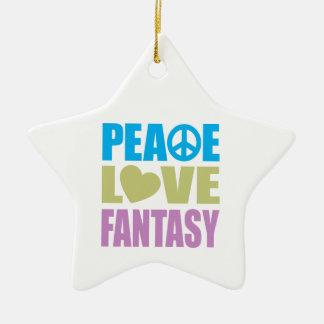 Fantasía del amor de la paz ornatos