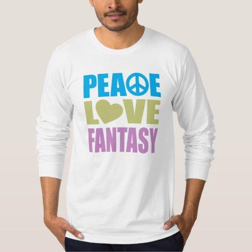 Fantasía del amor de la paz polera