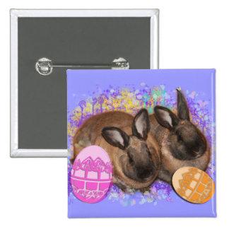 ¡Fantasía del conejito de pascua - Pascua feliz! Pins