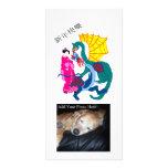 Fantasía del dragón tarjetas con fotos personalizadas