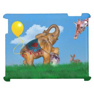 Fantasía del elefante y del globo