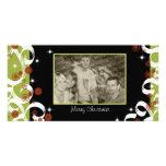 Fantasía del navidad tarjetas fotograficas personalizadas