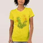 Fantasía del Seahorse Camisetas