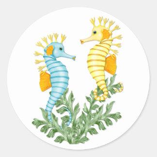 Fantasía del Seahorse Pegatinas