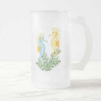 Fantasía del Seahorse Taza De Café