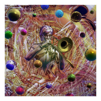 Fantasía del Trombone Posters