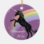 Fantasía del unicornio del arco iris ornatos