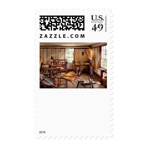 Fantasía - en el taller de las brujas timbres postales