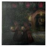 Fantasía - en la noche tejas  cerámicas