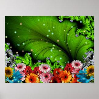 Fantasía esmeralda póster