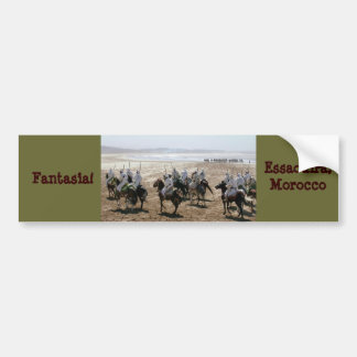 Fantasia, Essaouira, Morocco Bumper Sticker