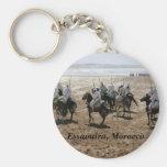 Fantasia, Essaouira, Morocco Key Chain