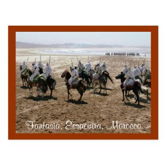 Fantasia, Essaouira, Morocco Postcard