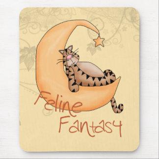 Fantasía felina tapete de ratones