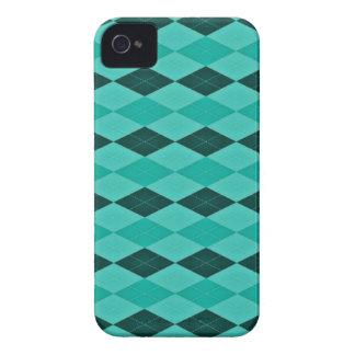 Fantasía femenina del trullo y de la turquesa iPhone 4 Case-Mate protector