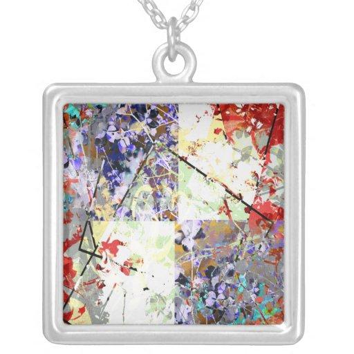 Fantasía floral collar personalizado