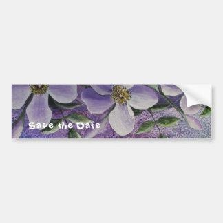 Fantasía floral de la pegatina para el parachoques pegatina para auto
