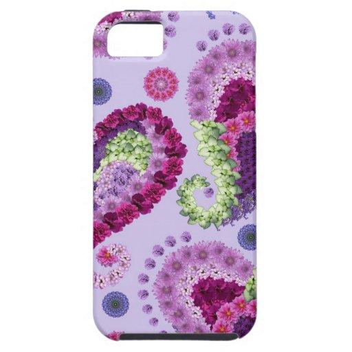 Fantasía floral de Paisley iPhone 5 Case-Mate Funda