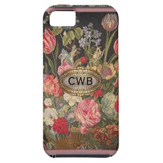 Fantasía floral del Victorian de la floración II iPhone 5 Fundas