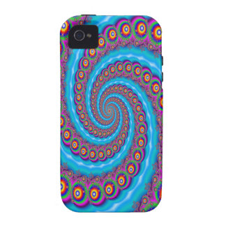 Fantasia Fractal Bubble Whirlpool iPhone 4 Covers
