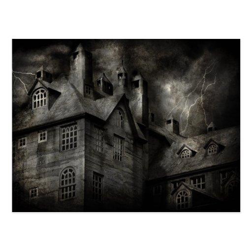 Fantasía - frecuentada - era una noche oscura y postales