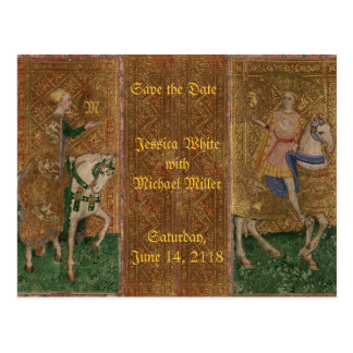 Fantasía histórica del renacimiento medieval del postales